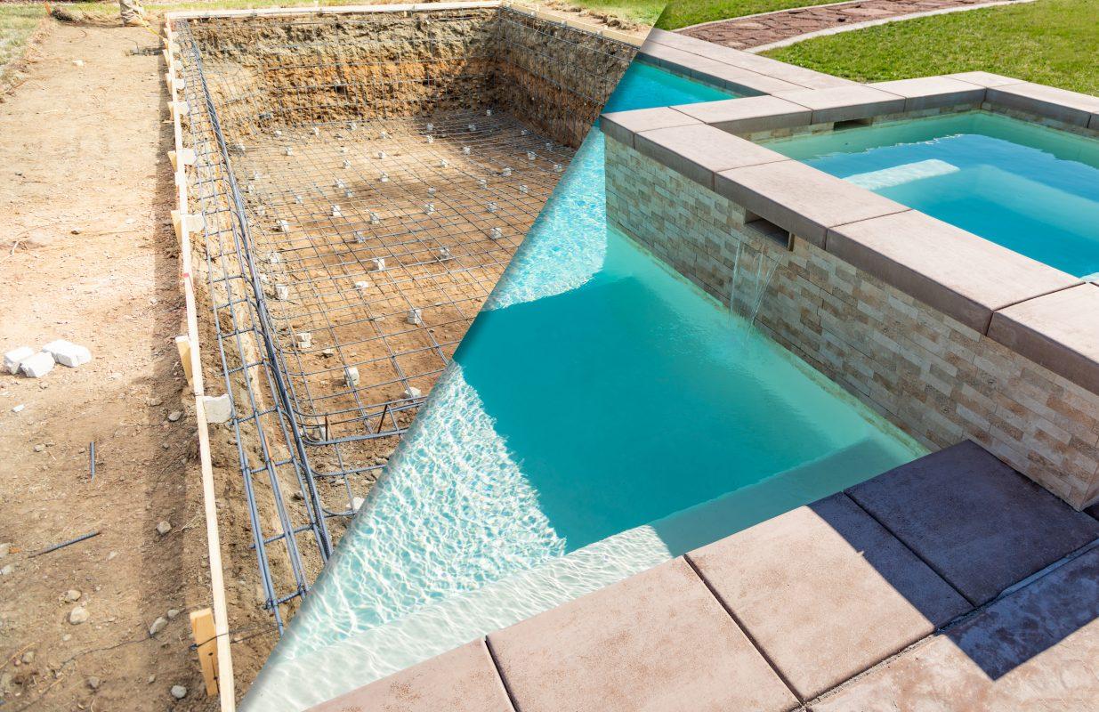 terrassement piscine à Chatel