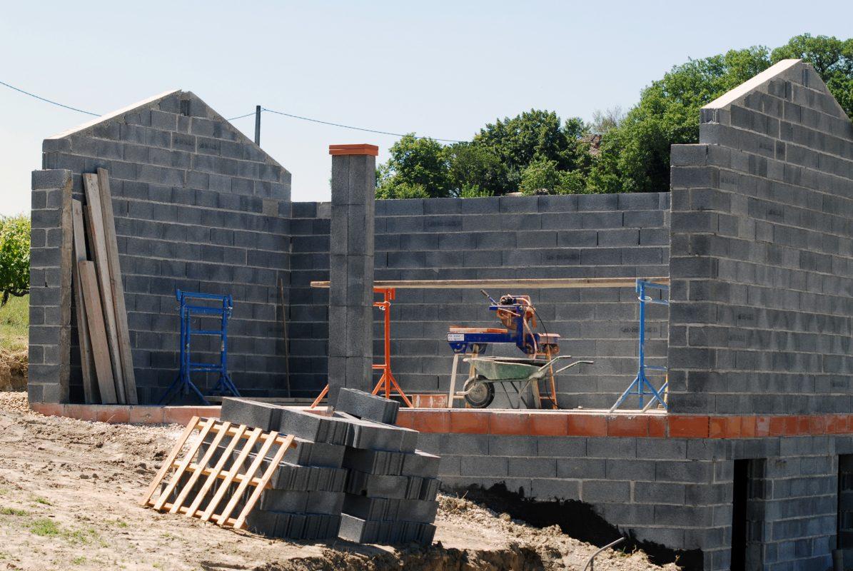 chantier de maison