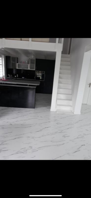 renovation cuisine et mezzanine